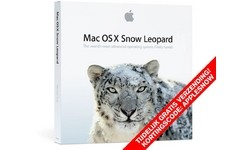 Apple Mac OS X v.10.6 Snow Leopard NL Box Set Full Version