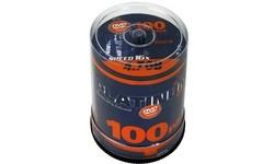 Platinum DVD-R 16x 100pk Spindle