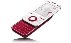Sony Ericsson U100 Yari Cranberry White
