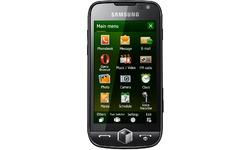 Samsung I8000 Rose Black