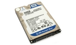 Western Digital Scorpio Blue 640GB