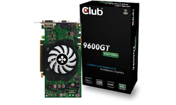 Club 3D GeForce 9600 GT Green Edition 1GB