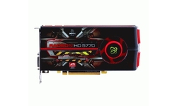 XFX Radeon HD 5770 1GB (CrossFire bridge)