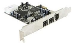 Delock PCIe FireWire Combo 2x 1394B 1x1394A