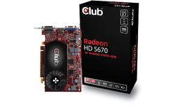 Club 3D Radeon HD 5670 1GB (smaller card size)