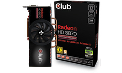 Club 3D Radeon HD 5870 Overclocked Edition 1GB