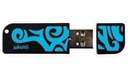 takeMS MEM-Drive Tribal Blue 4GB