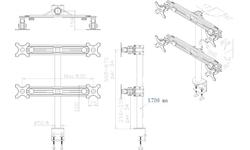 NewStar FPMA-D700D4 Desk mount
