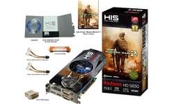 HIS Radeon HD 5830 OC 1GB (Modern Warfare 2)
