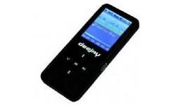takeMS MP3-Player DJ 8GB Black