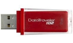 Kingston DataTraveler 102 Red 2GB