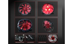 Aerocool RS12 Carbon Fiber Red