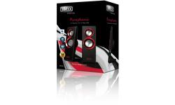 Sweex 2.0 Speaker Set Purephonic 20W Red