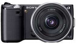 Sony NEX-5 16mm + 18-55 kit Black