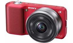 Sony NEX-3 16mm kit Red