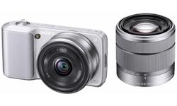Sony NEX-3 16mm + 18-55 kit Silver