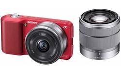 Sony NEX-3 16mm + 18-55 kit Red