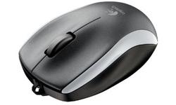 Logitech M125 Corded Mouse Silver