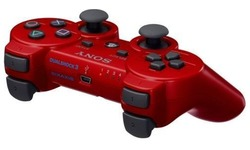 Sony PS3 Wireless DualShock Controller Red