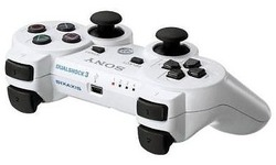 Sony PS3 Wireless DualShock Controller White