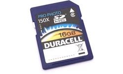 Duracell SDHC Class 6 Pro Photo 16GB