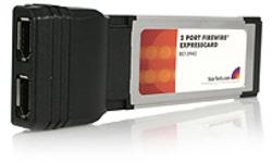 StarTech.com 2-port ExpressCard