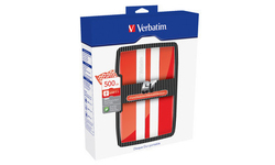 Verbatim GT Portable Hard Drive 500GB Red