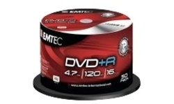Emtec DVD+R 16x 50pk Spindle
