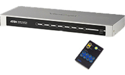 Aten 8-Port HDMI Audio/Video Switch with IR Remote Control