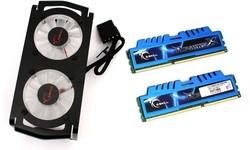 G.Skill RipjawsX 4GB DDR3-2133 CL9 kit (blue)