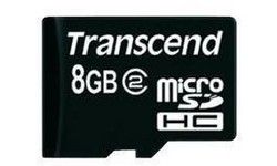 Transcend 8GB MicroSDHC Class 4
