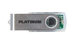 Platinum Twister 32GB Transparent