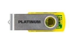 Platinum Twister 32GB Yellow Transparent