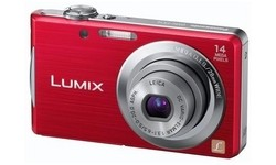 Panasonic Lumix DMC-FS16 Red