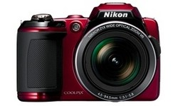 Nikon Coolpix L120 Red