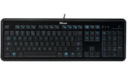 Trust eLight Led Illuminated Keyboard BE