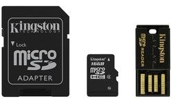 Kingston 16GB MicroSDHC Class 4 Mobility kit