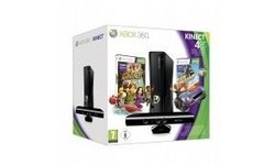 Microsoft Xbox 360 4GB Kinect + Kinect Adventures & Joy Ride