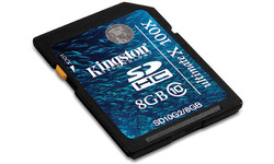 Kingston Ultimate X SDHC Class 10 8GB