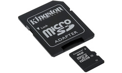 Kingston MicroSDHC Class 10 4GB + Adapter