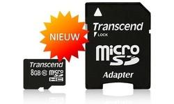 Transcend MicroSDHC Class 10 8GB
