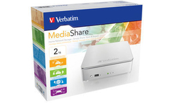 Verbatim MediaShare Home Network Storage 2TB