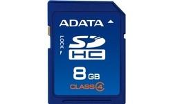 Adata SDHC Class 4 8GB