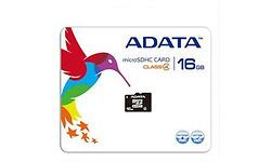 Adata MicroSDHC Class 4 16GB + Adapter