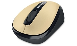 Microsoft Wireless Mobile Mouse 3500 Mac Gold Metal