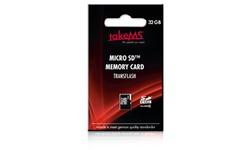 takeMS MicroSDHC Class 6 32GB