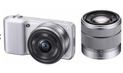 Sony NEX-C3 + 16mm + 18-55mm Silver