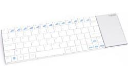 Rapoo Wireless Multimedia Touchpad Keyboard E2700 Black