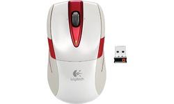 Logitech Wireless Mouse M525 Pearl White