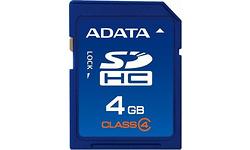 Adata SDHC Turbo Class 4 4GB